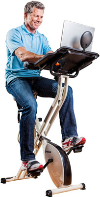 FitDesk v2.0 Desk Exercise Bike