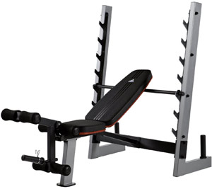 Adidas olympic weight bench review home gym now