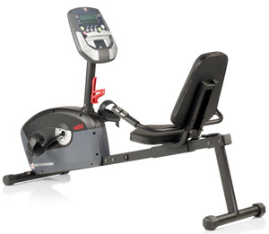 Schwinn A20 Recumbent Exercise Bike