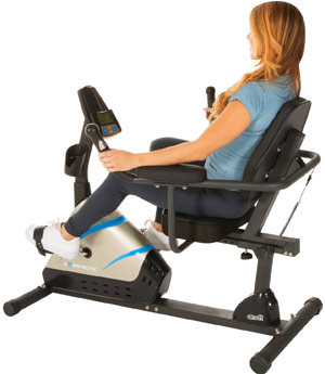 Exerpeutic 2000 Recumbent Bike
