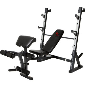 Marcy Diamond Olympic Surge Weight Bench